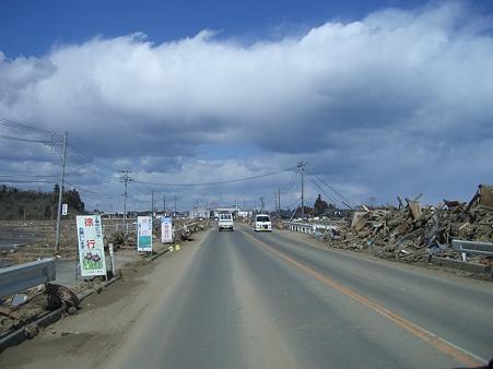 東日本大震災 津波3
