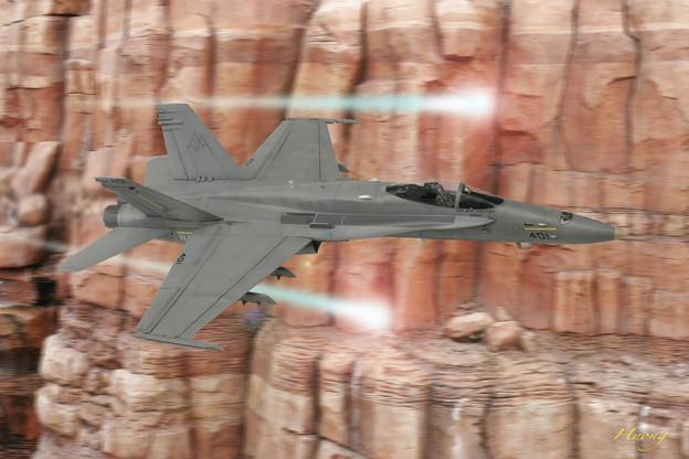 F-18 vs UFO インデペンデンス・デイより