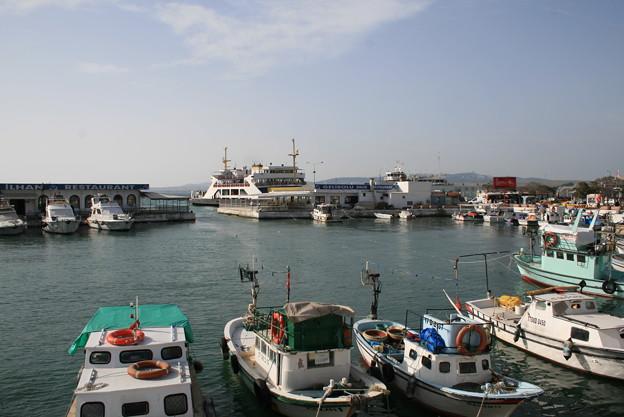 チャナッカレ 漁港
