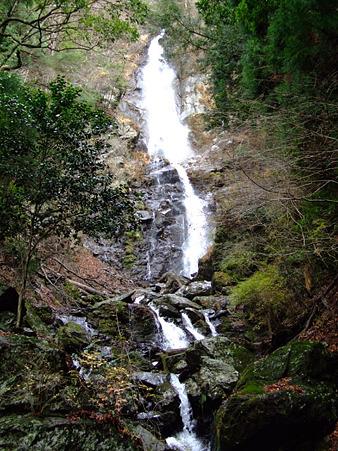 葵区大間 福養の滝