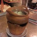 写真: 辛いココナッツスープ