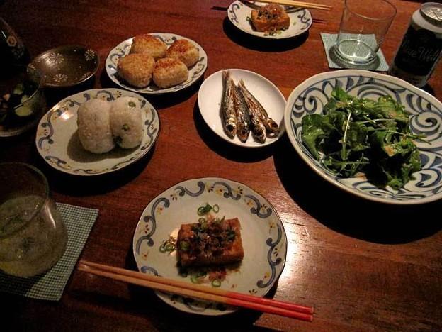 ある夜の食卓…