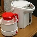 024 赤ちゃんプラン専用ルームの調乳ポットと湯沸かしポット by ホテルグリーンプラザ軽井沢
