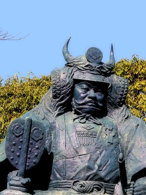 写真: 甲斐国の守護神。