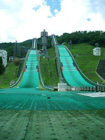 長野オリンピック・スキージャンプ台
