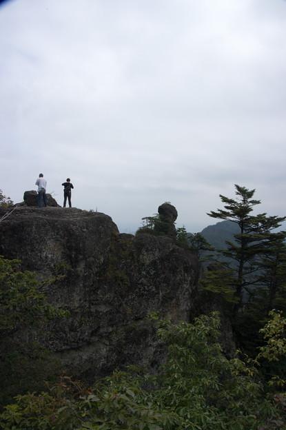 IMGP7189大砲岩から天狗のひょうていの人