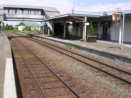 清里町駅1