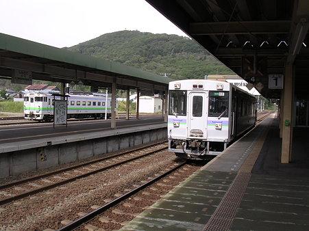 新得駅ホーム