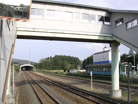 川端駅 夕張方向