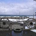 写真: 北浜駅から