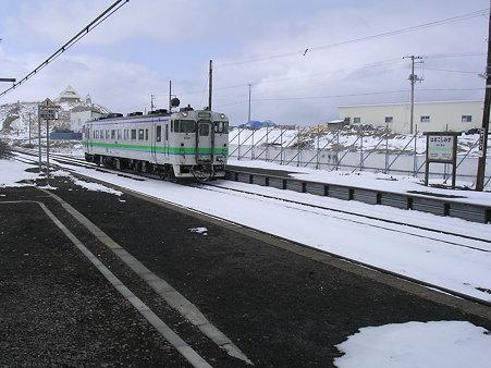浜小清水駅入線