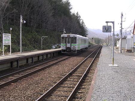 銀山駅ホーム2