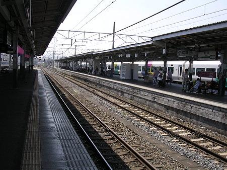 松本駅ホーム1