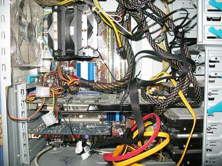 2009.07.28 CPU換装(1/3)