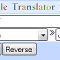 Photos: Operaウィジェット:Google Translator