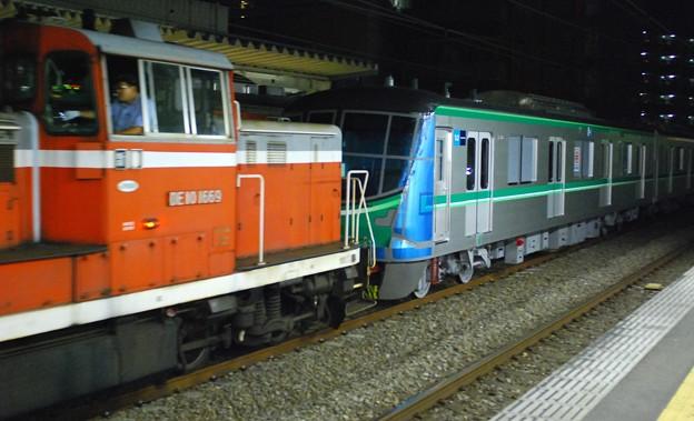 東京メトロ 千代田線16000系 甲種輸送 DE10-1669 JR東日本 西国分寺駅