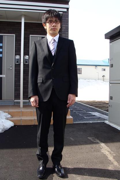 平成23年4月10日入学式の朝