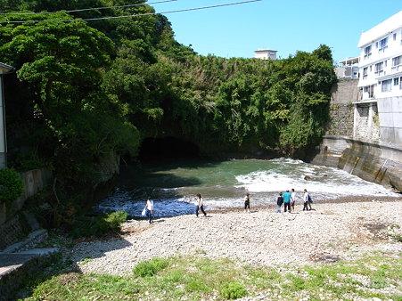 堂ヶ島天窓洞公園の洞窟
