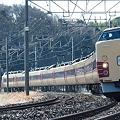 写真: 成田山初詣臨時列車