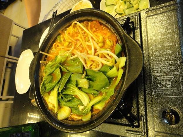韓国包菜鍋 加野菜