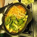 Photos: 韓国包菜鍋 加野菜