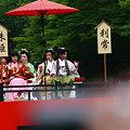 写真: 金沢百万石まつり  珠姫と利常