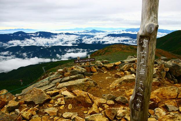 乗鞍 富士見岳 山頂
