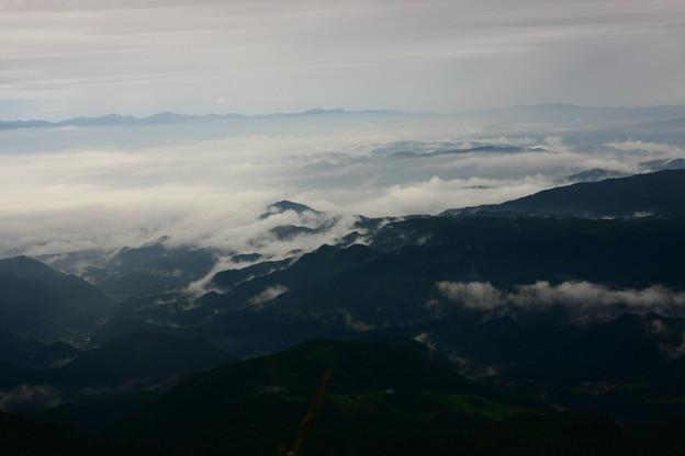 乗鞍スカイライン バス車窓から(1)  雲海