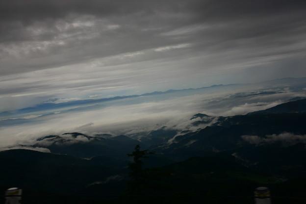 乗鞍スカイライン バス車窓から(2) 雲海