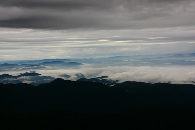 乗鞍スカイライン バス車窓から(3) 雲海