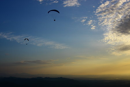 大空に向かって、高く飛び立とう!