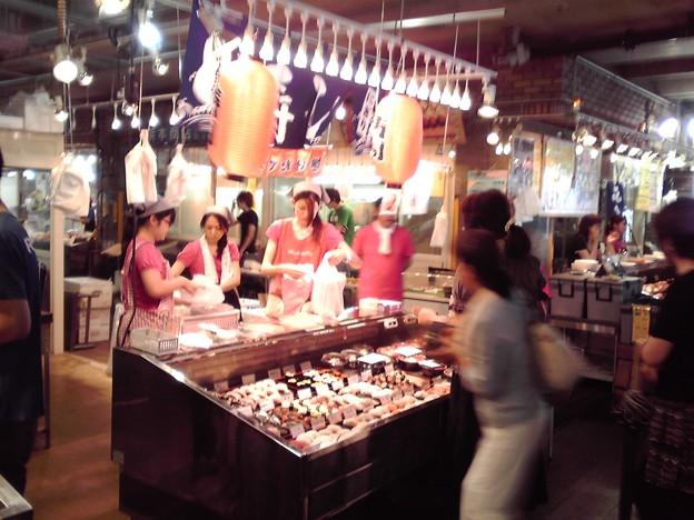 写真: お寿司バイキング