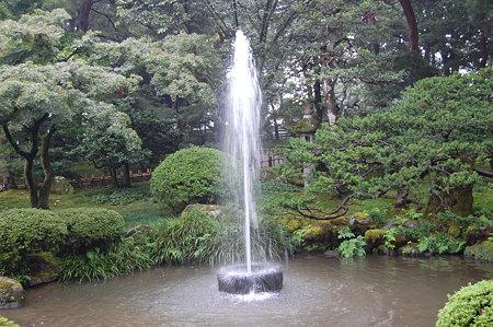 兼六園 噴水