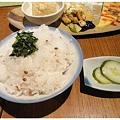 Photos: 赤米ご飯と胡瓜のぬか浸け
