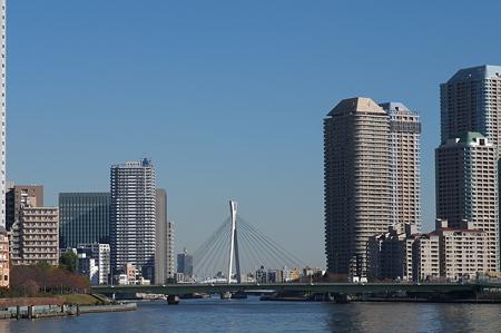勝鬨橋からの眺望