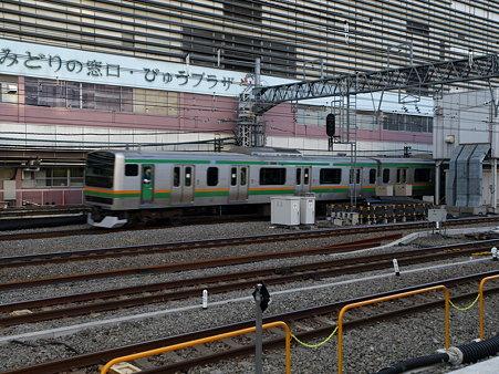 E231系湘南新宿ライン(新宿駅)