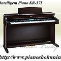 Photos: Roland Intelligent Piano KR-575