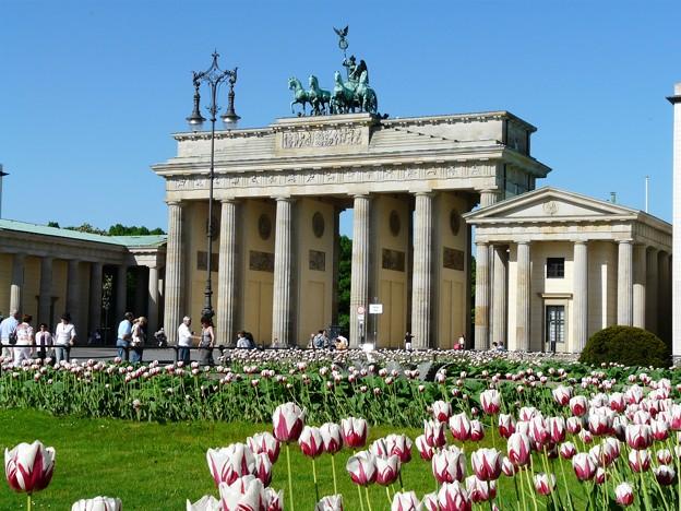 統一ドイツを象徴する門 SOICHIRO