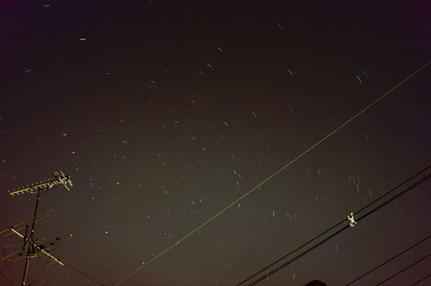 Photos: 星に見る地球の動き 修正後