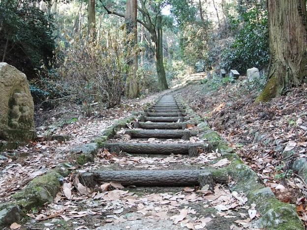 御岳山への遊歩道