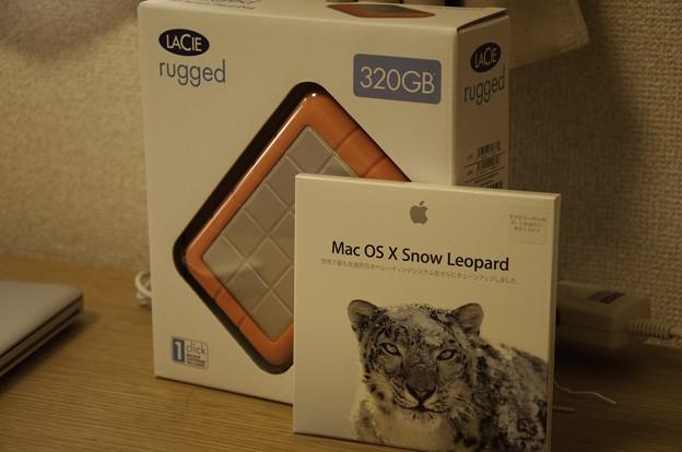 SnowLeopardとHDD