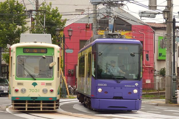 写真: 離合シーン 2014.7.3