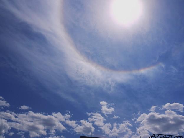 またも彩雲状暈雲 2009.5.20  12h37mi(6)