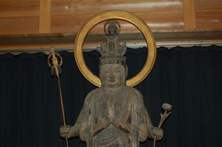 滋賀穴太の里 盛安寺秘仏十一面観音立像