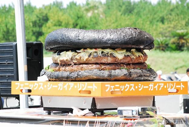 写真: ギネス世界記録にチャレンジ 世界最大のハンバーガーを作る!21