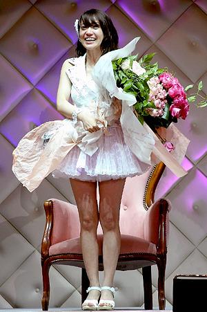 総選挙で1位に返り咲いた大島優子さまっ