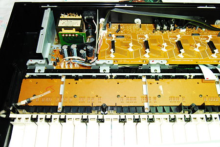 XP-50 エクスパンションボード部分