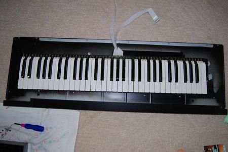 XP-50 鍵盤部分