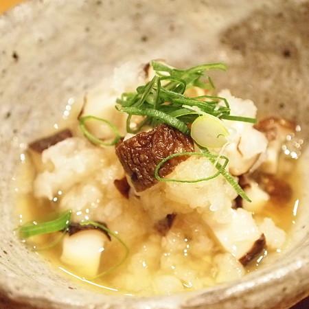 椎茸と大根の前菜