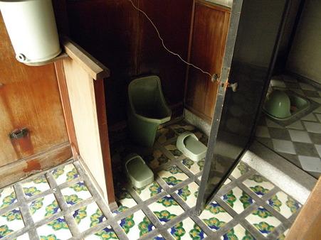堺屋 木下家住宅のトイレタイル